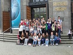Ekskurzija nadarjenih učencev v München