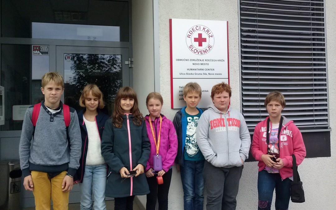 Obisk Humanitarnega centra OZRK Novo mesto