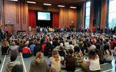 Erasmus+ NOVI MEDIJI V DEMOKRATIČNI DRUŽBI, delo v projektu v 1. letu